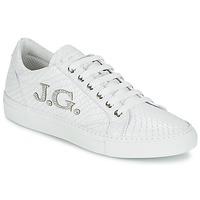 Sko Dame Lave sneakers John Galliano 7977 Hvid