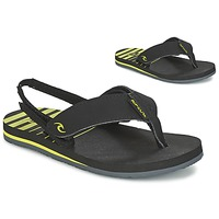 Sko Børn Flip flops Rip Curl THE ONE GROMS Sort / Gul