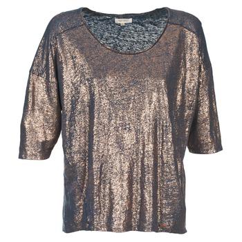 textil Dame T-shirts m. korte ærmer Miss Sixty FOX Marineblå / Guld