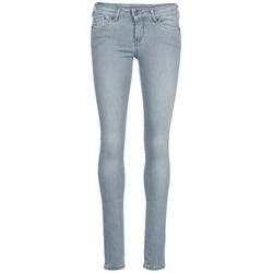 textil Dame Smalle jeans Pepe jeans PIXIE Grå / Q81