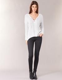 textil Dame Jeans - skinny Pepe jeans SOHO S98 / Sort
