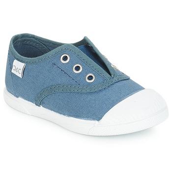Sko Børn Lave sneakers Citrouille et Compagnie RIVIALELLE Blå / Jeans