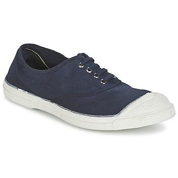 Sko Dame Lave sneakers Bensimon TENNIS LACET Marineblå