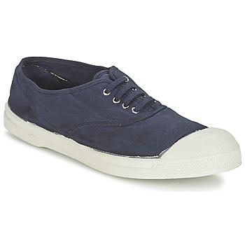 Sko Herre Lave sneakers Bensimon TENNIS LACET Marineblå