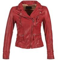 textil Dame Læderjakker Oakwood 60861 Rød