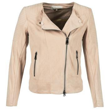 textil Dame Jakker i læder / imiteret læder Oakwood 61903 Pink / Lys