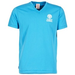 textil Herre T-shirts m. korte ærmer Franklin & Marshall DOBSON Blå