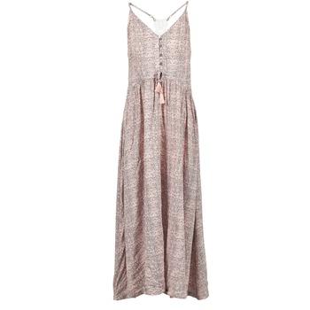 textil Dame Lange kjoler Rip Curl SNAKE Pink