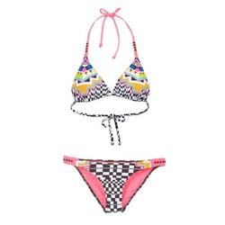 textil Dame Bikini Rip Curl CANCUN TRISET Flerfarvet