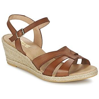 Sko Dame Sandaler So Size ELIZA Brun