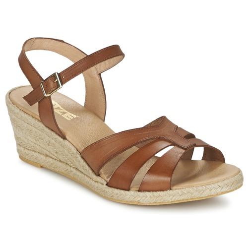 0afd7185 So Size ELIZA Brun - Gratis fragt | Spartoo.dk ! - Sko sandaler Dame ...