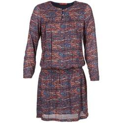 textil Dame Korte kjoler Esprit AGAROZA Marineblå / Flerfarvet