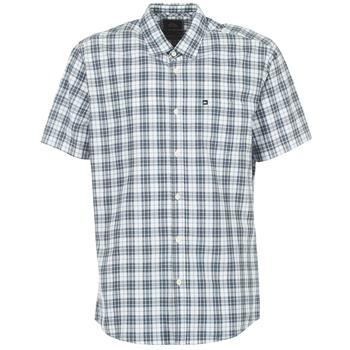 textil Herre Skjorter m. korte ærmer Quiksilver EVERYDAY CHECK SS Blå