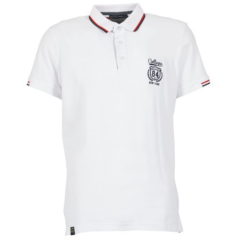 textil Herre Polo-t-shirts m. korte ærmer Best Mountain CADLY Hvid
