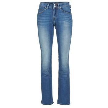 textil Dame Bootcut jeans Lee JOLIET Blå / MEDIUM