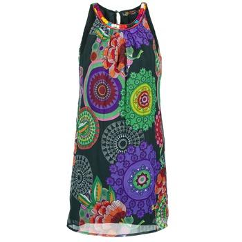 textil Dame Korte kjoler Desigual ESTOLE Flerfarvet