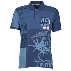 textil Herre Polo-t-shirts m. korte ærmer Desigual BELUDINE Blå
