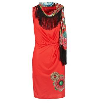 textil Dame Korte kjoler Desigual USIME Rød