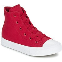 Sko Børn Høje sneakers Converse CHUCK TAYLOR All Star II HI Rød
