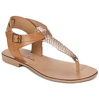 Sko Dame Sandaler Betty London VITALLA Kamel / Pink
