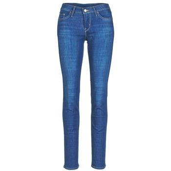 textil Dame Smalle jeans Levi's 712 SLIM Bay / Laurel / P7420