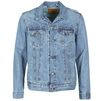 textil Herre Cowboyjakker Levi's THE TRUCKER JACKET Icy / P4927