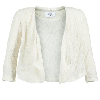 textil Dame Jakker / Blazere Le Temps des Cerises ILONA Hvid