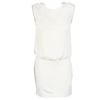 textil Dame Korte kjoler Le Temps des Cerises SHEILA Hvid