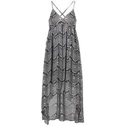 textil Dame Lange kjoler Le Temps des Cerises LUNE Sort / Hvid