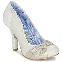 Sko Dame Pumps Irregular Choice SMARTIE PANTS Hvid