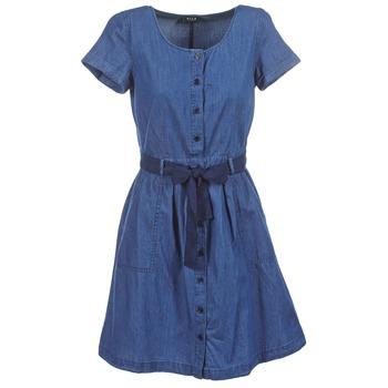 textil Dame Korte kjoler Vila VIKARI Blå / Medium