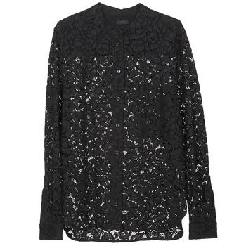 textil Dame Skjorter / Skjortebluser Joseph LANCE LACE Sort