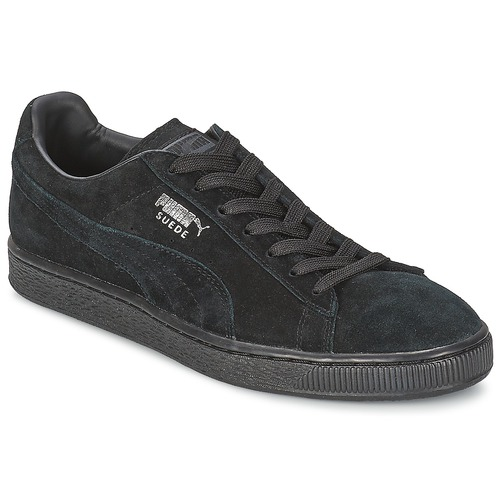 Sko Lave sneakers Puma SUEDE CLASSIC Sort / Grå