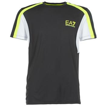 textil Herre T-shirts m. korte ærmer Emporio Armani EA7 VENTUS7 Sort