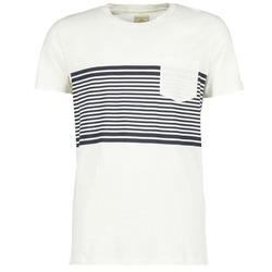 textil Herre T-shirts m. korte ærmer Selected LIAM Hvid