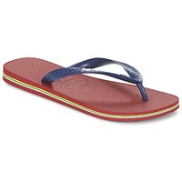 Sko Flip flops Havaianas BRASIL LOGO Marineblå / Rød