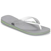 Sko Flip flops Havaianas BRASIL MIX Grå