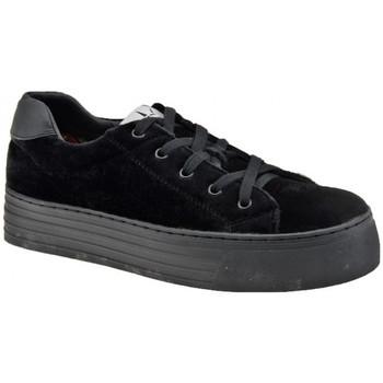 Sko Dame Lave sneakers F. Milano  Sort