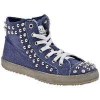 Sko Dame Høje sneakers F. Milano  Blå