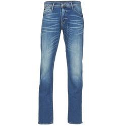 textil Herre Lige jeans Le Temps des Cerises 812 Blå