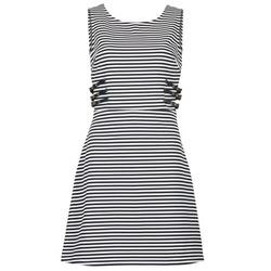 textil Dame Korte kjoler Morgan RMARI Marineblå / Beige