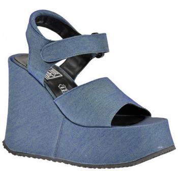 Sko Dame Sandaler No End  Blå