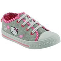 Sko Børn Lave sneakers Hello Kitty  Grå