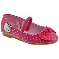 Sko Pige Ballerinaer Hello Kitty  Pink
