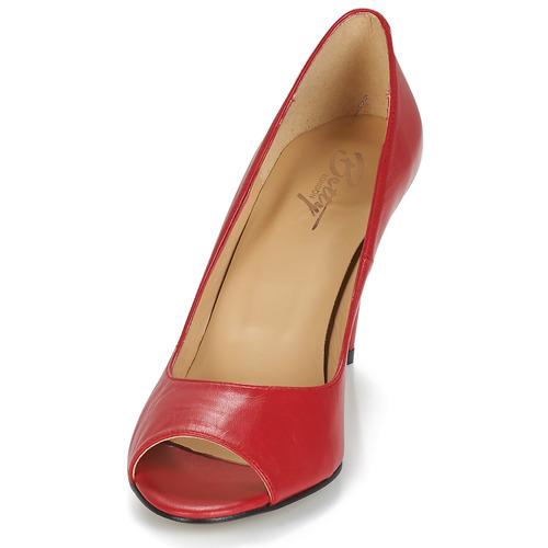 EMANA  Betty London  højhælede sko  dame  rød uiJtP