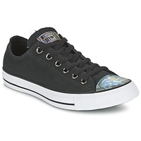 Sko Dame Lave sneakers Converse ALL STAR OIL SLICK TOE CAP OX Sort