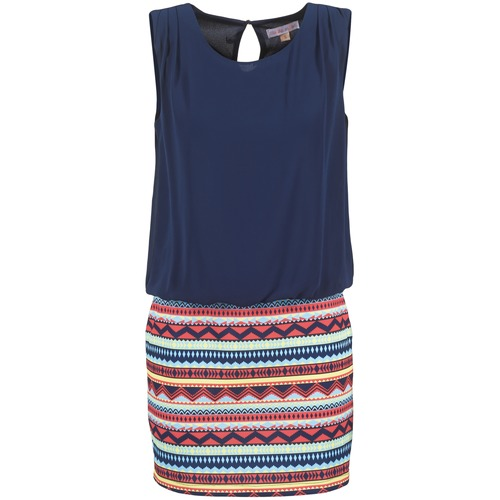textil Dame Korte kjoler Moony Mood IEVELI Marineblå