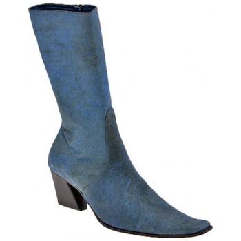 Sko Dame Chikke støvler Giancarlo Paoli  Blå