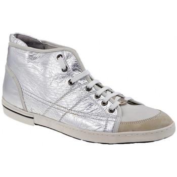 Sko Herre Høje sneakers OXS  Sølv