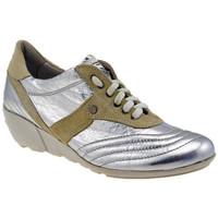 Sko Dame Høje sneakers OXS  Sølv